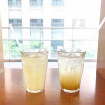 アドパンデュースの自家製ジンジャーエールとレモン酢カッシュ